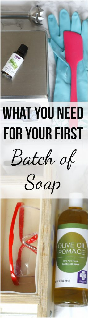 Before you learn how to make cold process soap you will have to gather everything you need. I will show you what you absolutely need and what you don't to make natural homemade soap. #coldprocess #coldprocesssoap #handmade #soap