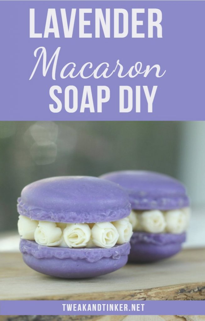 Let me show you how to make these beautiful cold process soap macarons scented with essential oils. These little cuties also make for amazing handmade or DIY gifts. #coldprocess #soap #handmadesoap #lavender #DIYgift