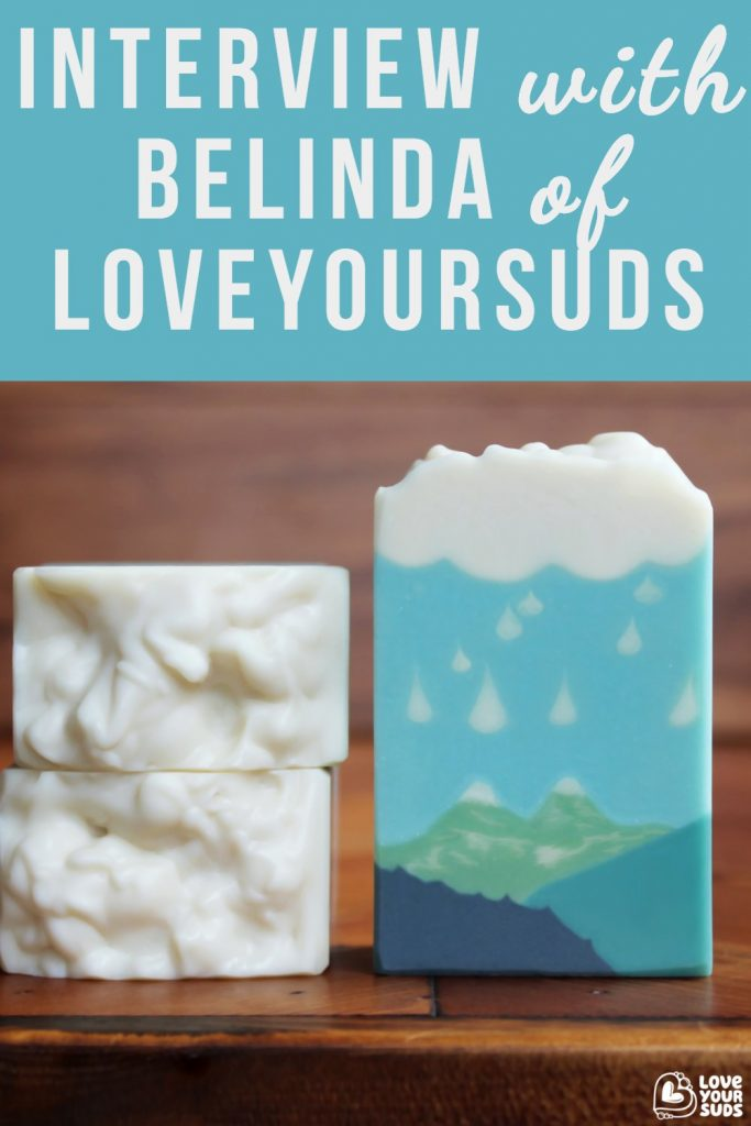 Belinda is a talented cold process soap maker and a small business owner. She's also a very active member in the soap making community, always generous with encouragement and advise.