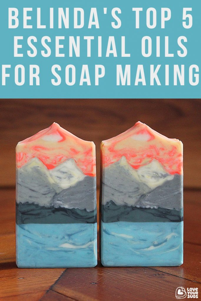 Find out what Belinda's favorite essential oils for cold process soap making are.