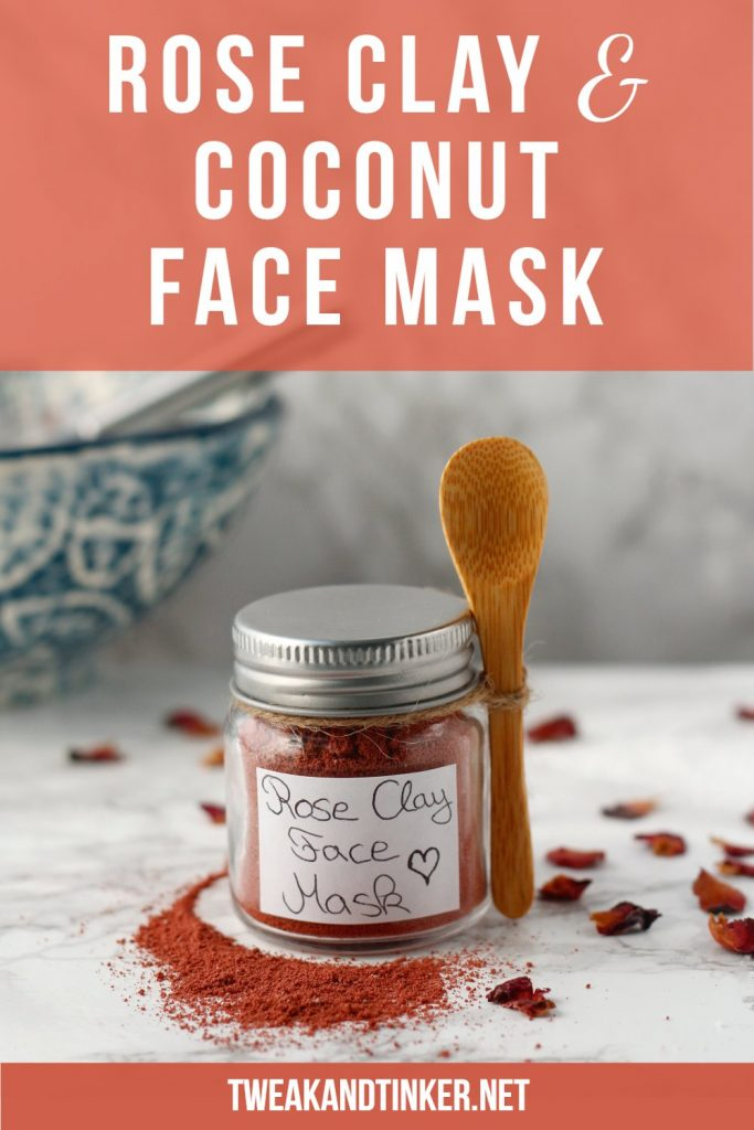 This 2 ingredient face mask is an easy beauty DIY. It's great for your skin and suitable for sensitive skin types. It makes a beautiful handmade gift or stocking stuffer.