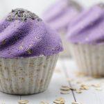 Lavender Oatmeal Cupcake Bath Bomb DIY