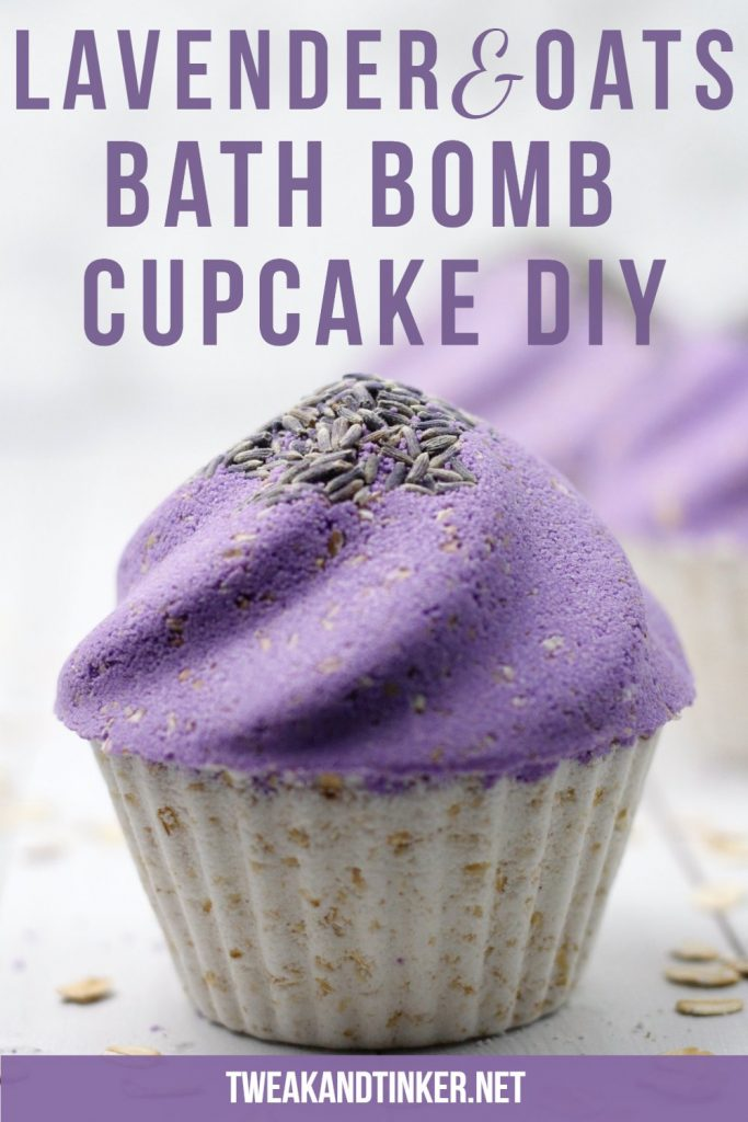 This easy cupcake bath bomb DIY is made with soothing oatmeal and lavender essential oil. These would make for amazing homemade gifts.