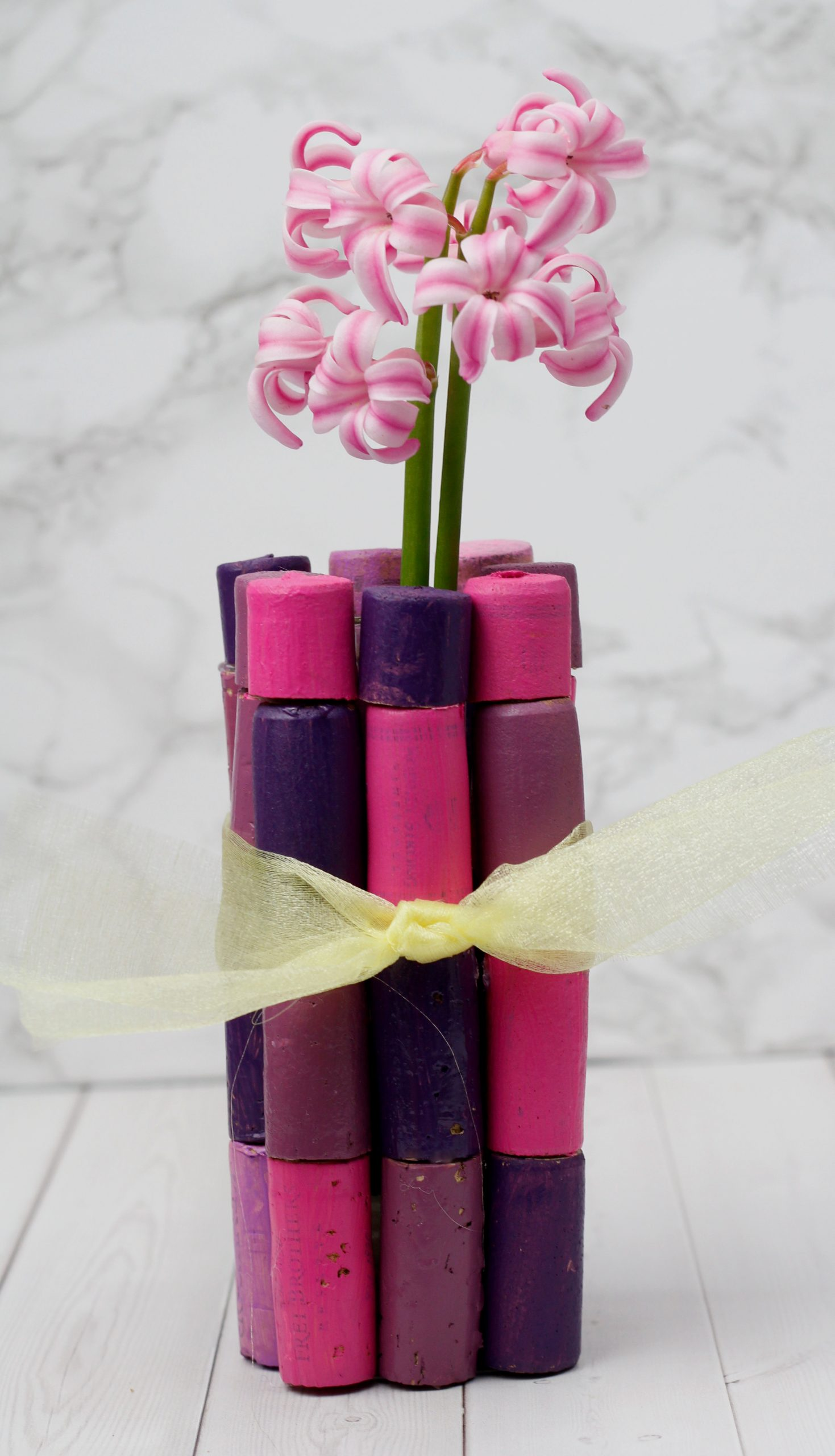 Wine Cork Flower Vase (Mother's Day Gift DIY)