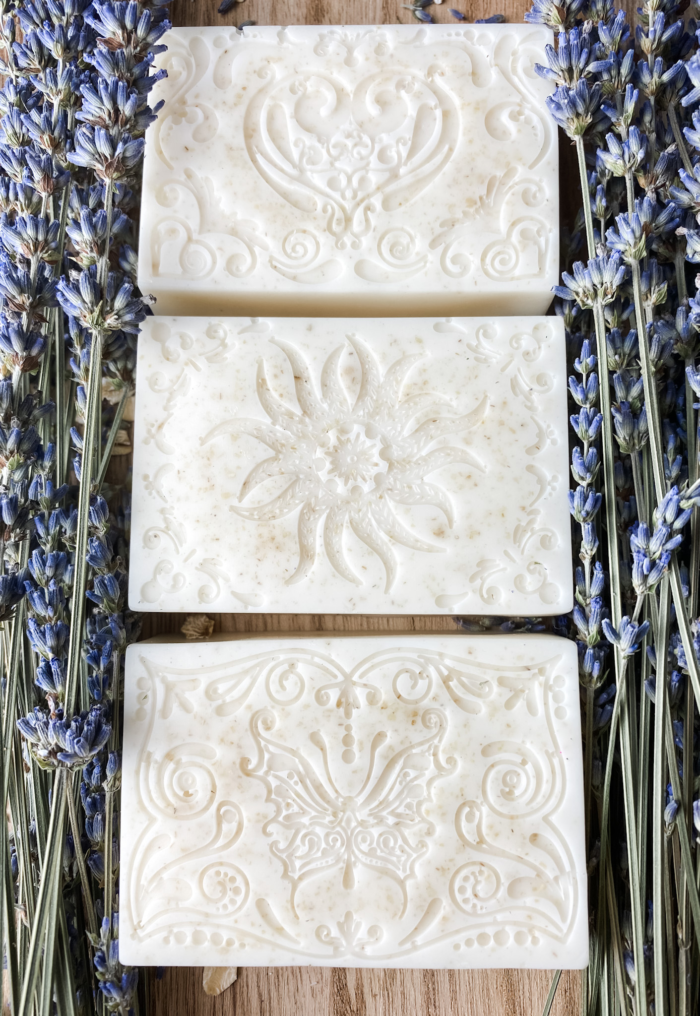 goat milk soaps 3 with motive melt and pour soaps