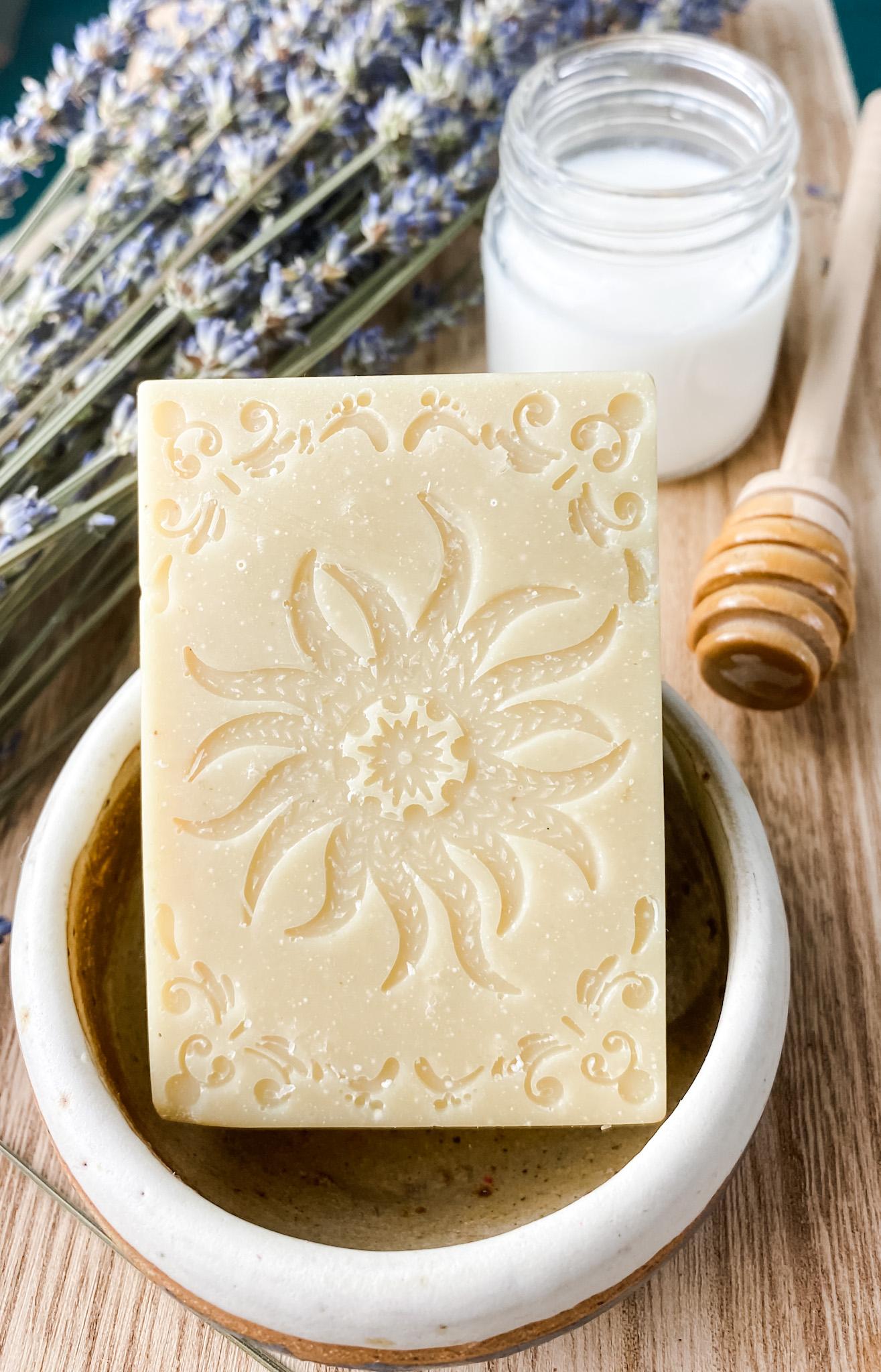 cold process goat milk soap